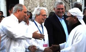 Presentación del ministro Argelino