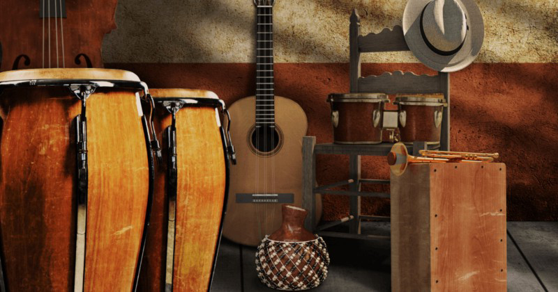 Instrumentos musicales tradicionales de Cuba